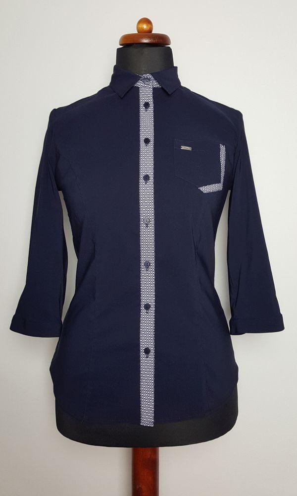 bluzki eleganckie plus size 783