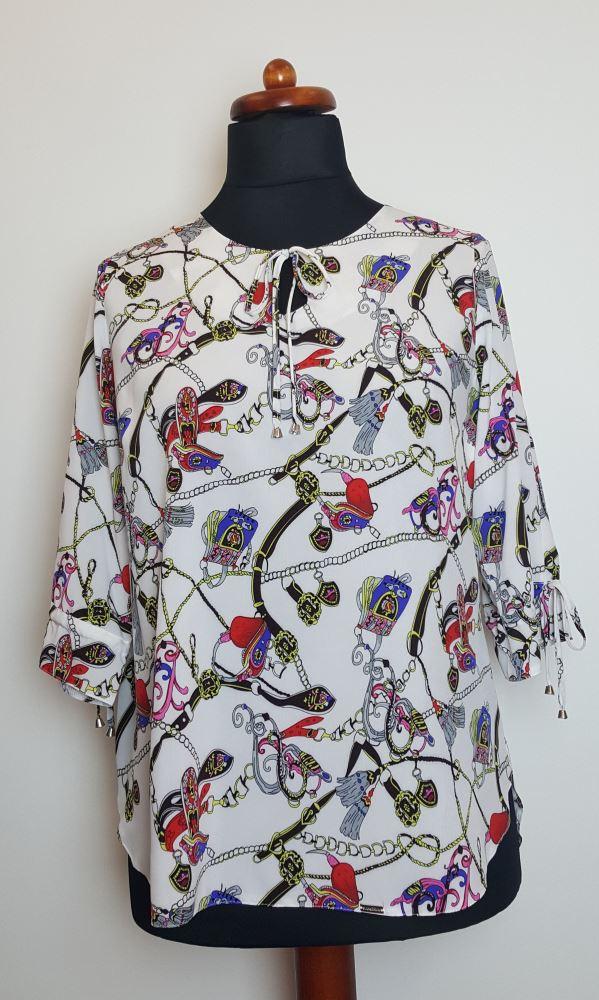 bluzki plus size damskie 420