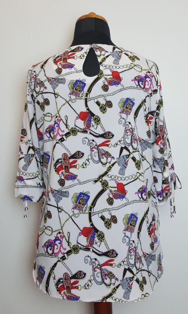 bluzki plus size damskie 418
