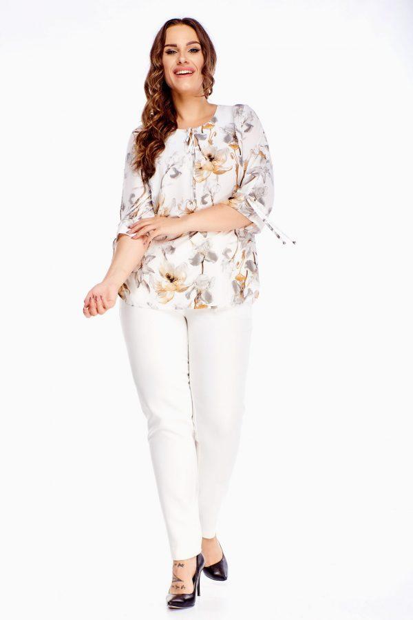 bluzki z długim rękawem plus size 519