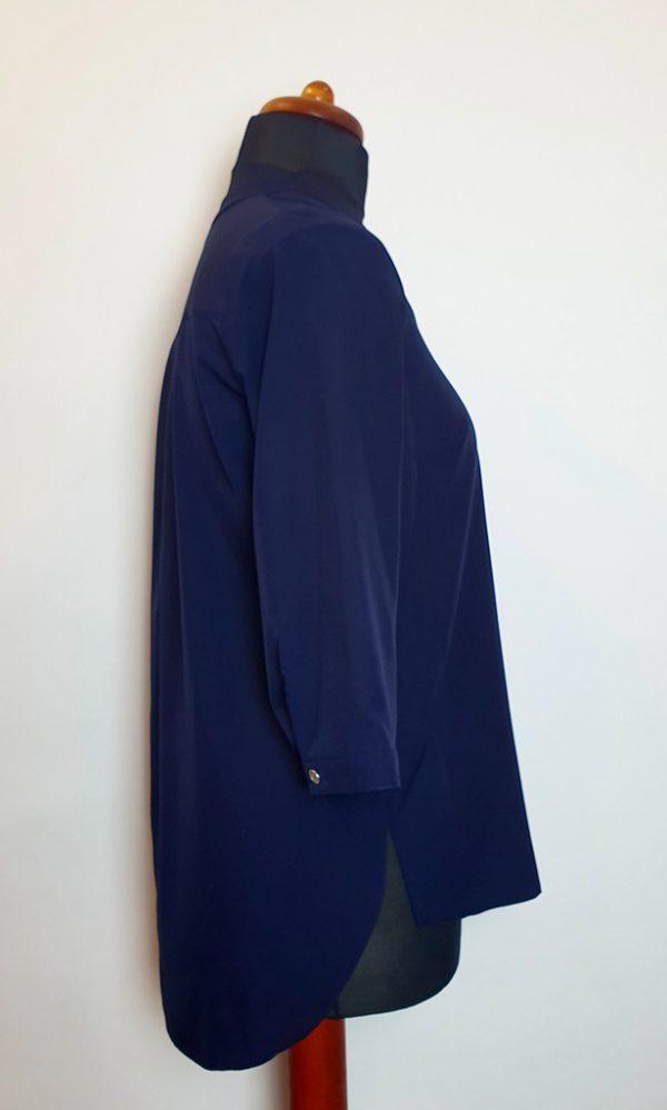 bluzki z długim rękawem plus size 129