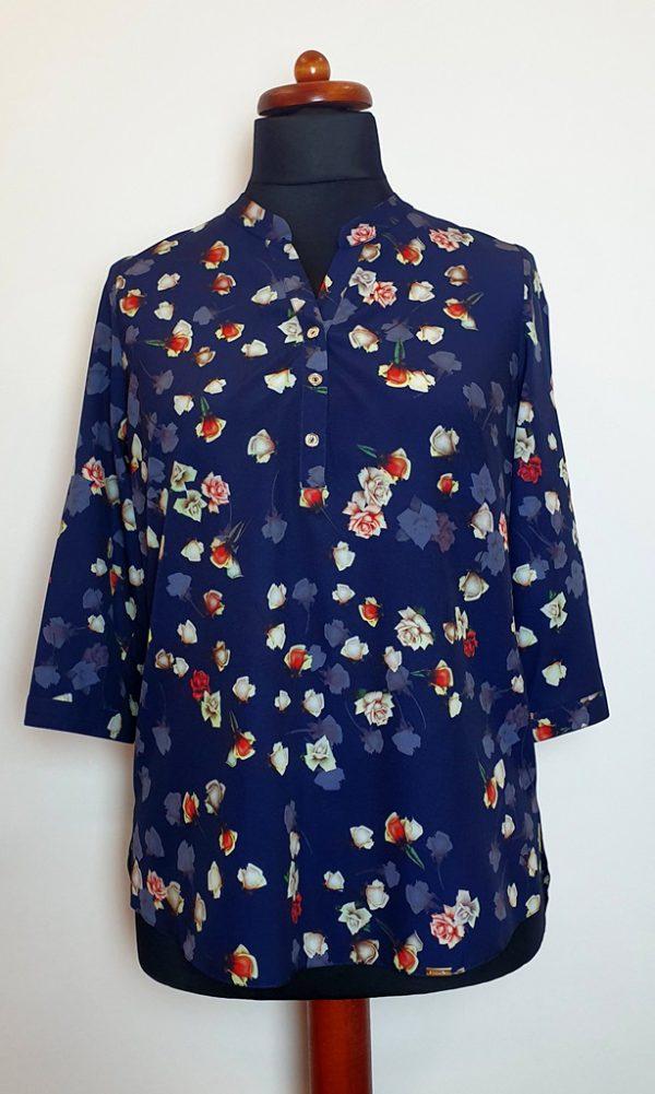 bluzki z długim rękawem plus size 128