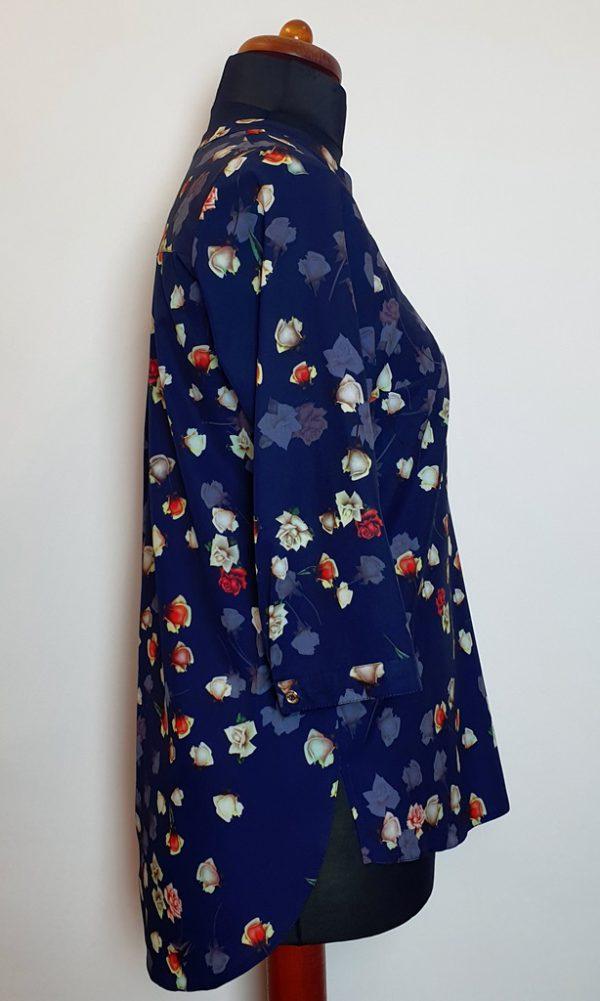 bluzki z długim rękawem plus size 127