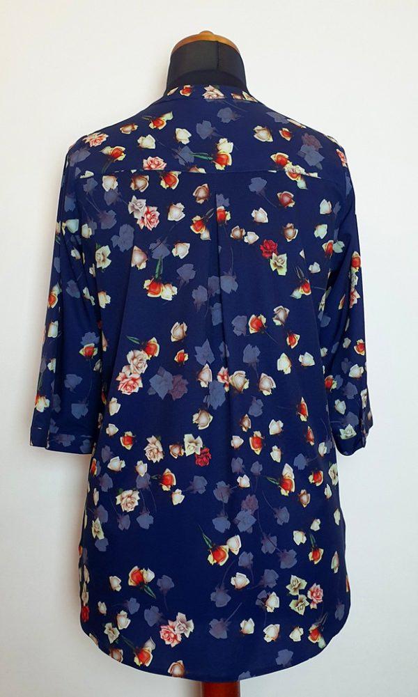 bluzki z długim rękawem plus size 126