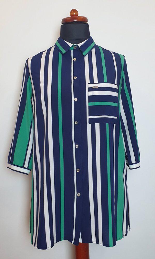 bluzki z długim rękawem plus size 121