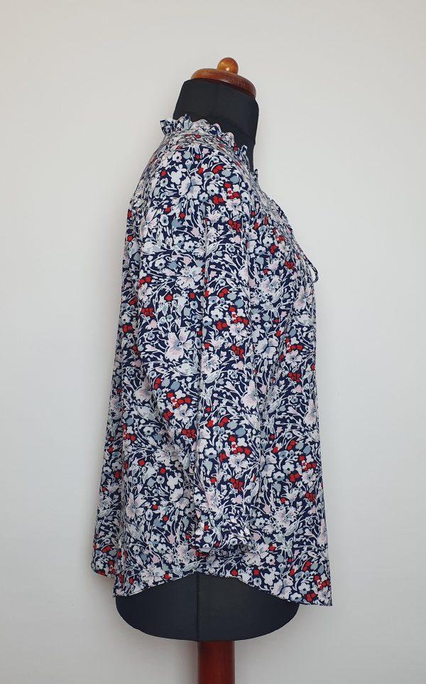 bluzki eleganckie plus size 826