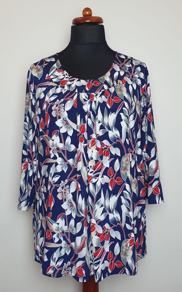 bluzki eleganckie plus size 824