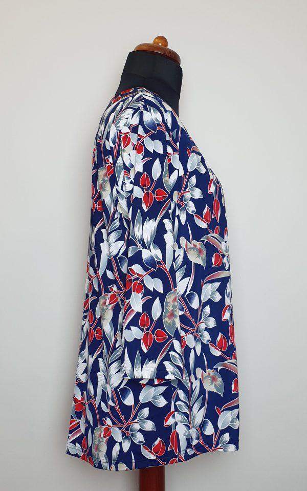bluzki eleganckie plus size 823