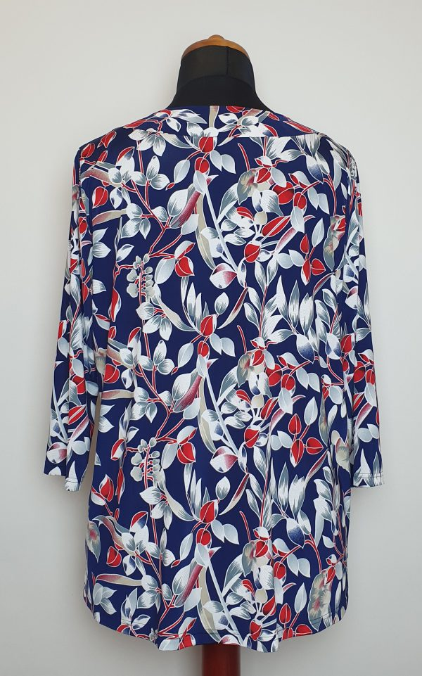 bluzki eleganckie plus size 822