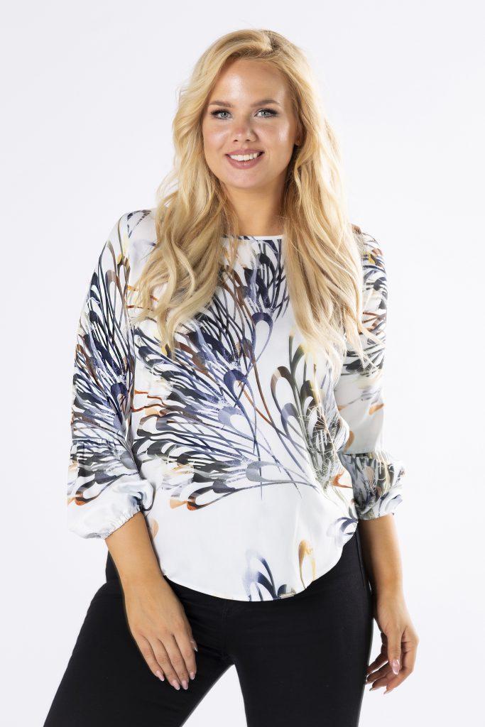 bluzki plus size damskie 110