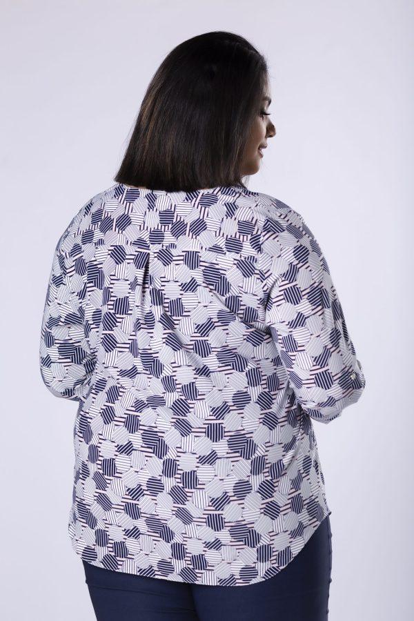 bluzki eleganckie plus size 519