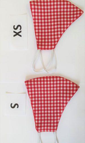 <b>DXS01</b> - Maska bawełniana 2 warstwowa na twarz XS-S dziecko