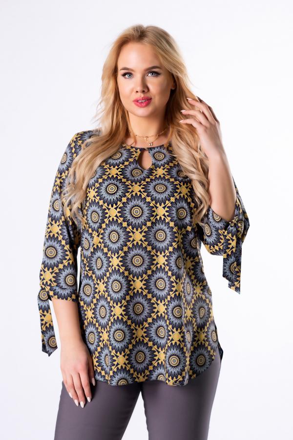bluzki plus size damskie 509