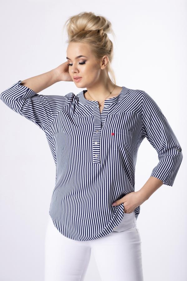 bluzki plus size damskie 506