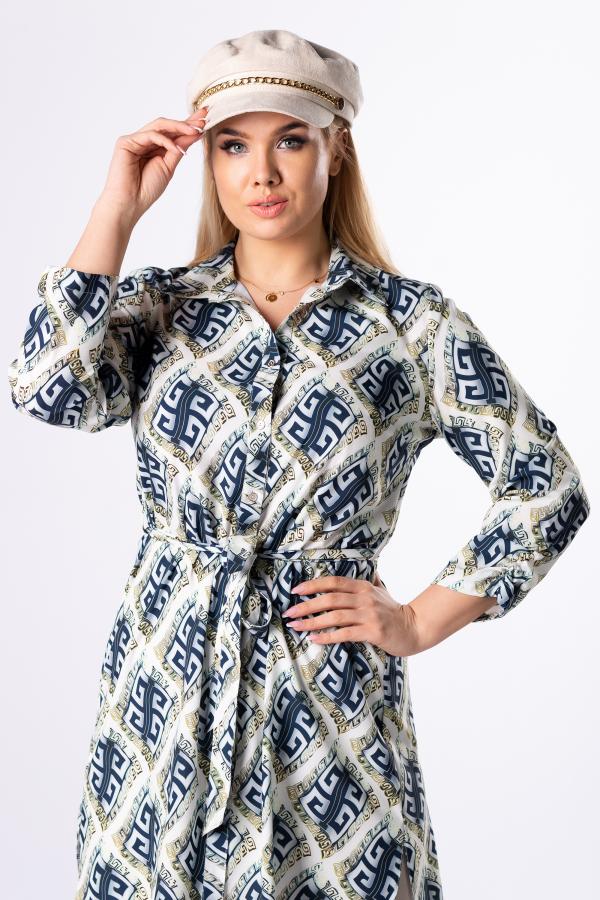 bluzki plus size damskie 503