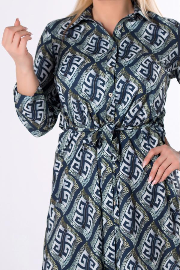 bluzki z długim rękawem plus size 995