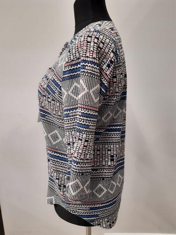 bluzki eleganckie plus size 999