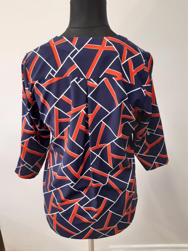 bluzki eleganckie plus size 998