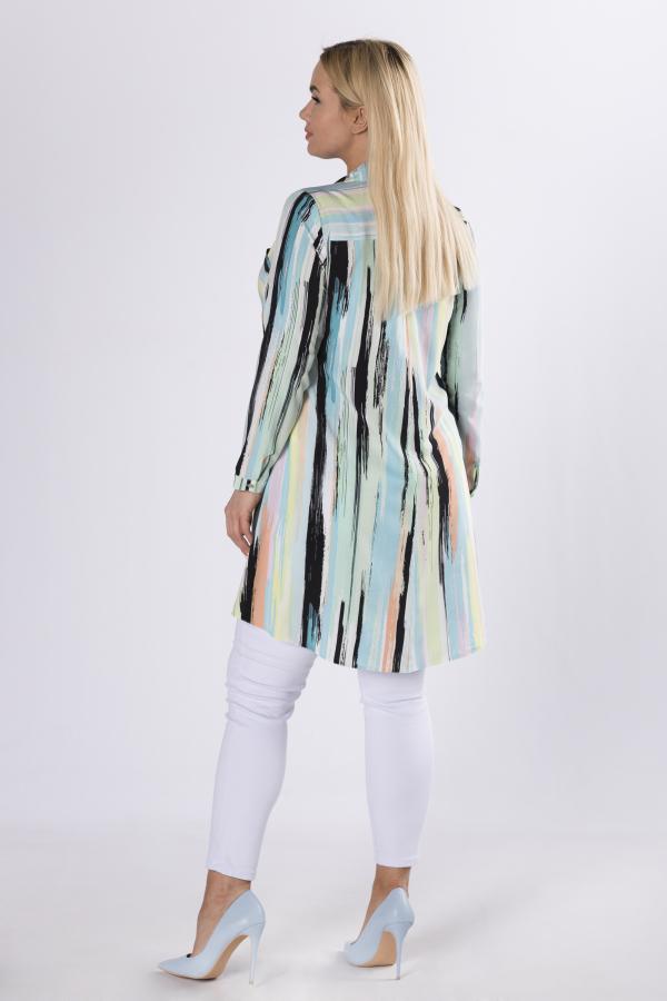 bluzki plus size damskie 990