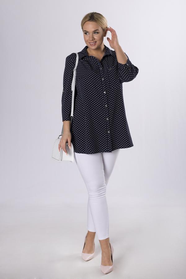bluzki plus size damskie 995