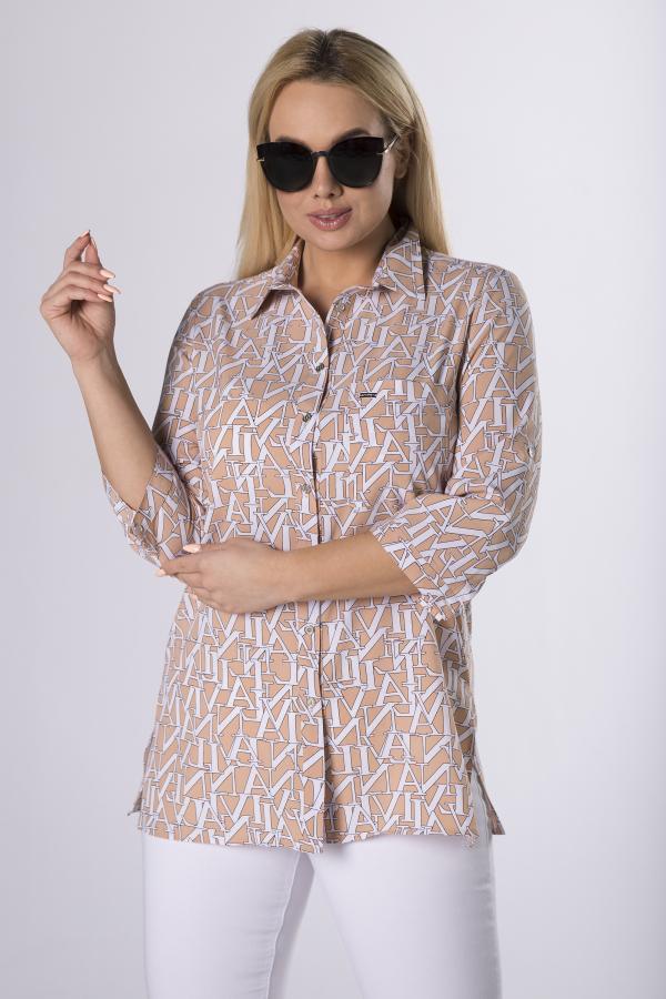 bluzki plus size damskie 998